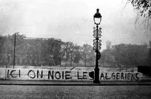 17 octobre 1961 à Paris